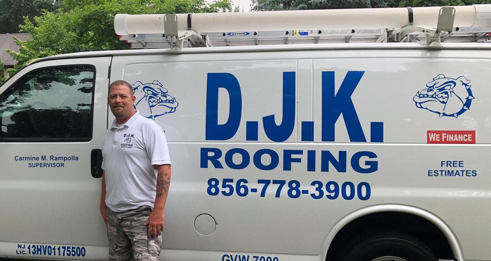Carmine from Mount Ephraim, NJ and DJK Roofing